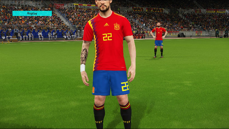 b940d17fbd2  PC  PS4  PES 2017 World Cup 2018 Kit v2 by Lucas RK