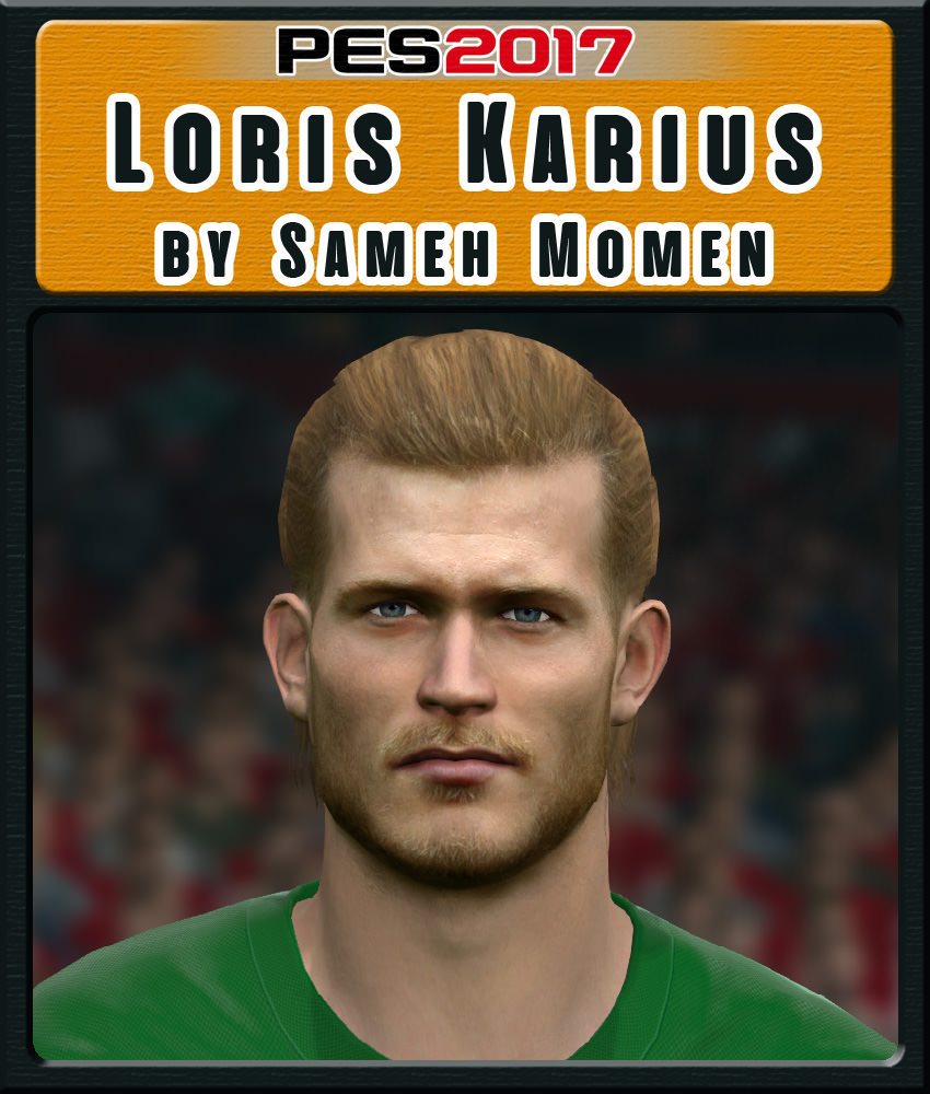 Pes 2017 Faces Lucas Moura By Sameh Momen: PES 2017 Loris Karius Face By Sameh Momen